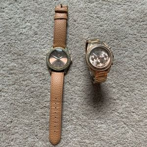 Two Charming Charlie's Watches
